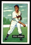 1951 Bowman REPRINT #115  Steve Gromek  Front Thumbnail