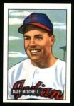 1951 Bowman REPRINT #5  Dale Mitchell  Front Thumbnail