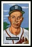 1951 Bowman REPRINT #42  Vern Bickford  Front Thumbnail