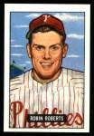 1951 Bowman REPRINT #3  Robin Roberts  Front Thumbnail