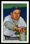 1951 Bowman REPRINT #39  Ray Scarborough  Front Thumbnail