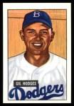 1951 Bowman REPRINT #7  Gil Hodges  Front Thumbnail
