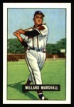 1951 Bowman REPRINT #98  Willard Marshall  Front Thumbnail
