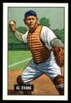 1951 Bowman REPRINT #38  Al Evans  Front Thumbnail