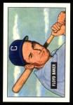 1951 Bowman REPRINT #87  Floyd Baker  Front Thumbnail
