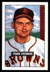 1951 Bowman REPRINT #280  Frank Overmire  Front Thumbnail