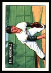 1951 Bowman REPRINT #239  Bill MacDonald  Front Thumbnail