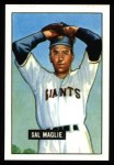 1951 Bowman REPRINT #127  Sal Maglie  Front Thumbnail