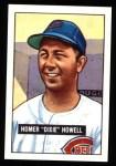 1951 Bowman REPRINT #252  Dixie Howell  Front Thumbnail