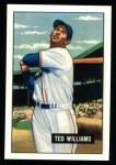 1951 Bowman REPRINT #165  Ted Williams  Front Thumbnail