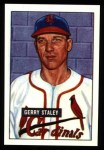 1951 Bowman REPRINT #121  Gerry Staley  Front Thumbnail