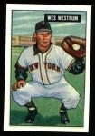 1951 Bowman REPRINT #161  Wes Westrum  Front Thumbnail
