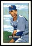 1951 Bowman REPRINT #321  Earl Johnson  Front Thumbnail