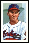 1951 Bowman REPRINT #295  Al Lopez  Front Thumbnail