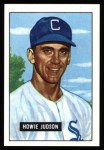 1951 Bowman REPRINT #123  Howie Judson  Front Thumbnail
