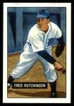1951 Bowman REPRINT #141  Fred Hutchinson  Front Thumbnail