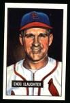 1951 Bowman REPRINT #58  Enos Slaughter  Front Thumbnail