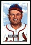 1951 Bowman REPRINT #230  Max Lanier  Front Thumbnail