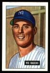 1951 Bowman REPRINT #25  Vic Raschi  Front Thumbnail