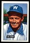 1951 Bowman REPRINT #18  Gil Coan  Front Thumbnail