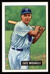 1951 Bowman REPRINT #132  Cass Michaels  Front Thumbnail