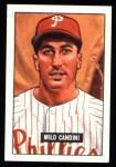 1951 Bowman REPRINT #255  Milo Candini  Front Thumbnail