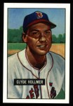 1951 Bowman REPRINT #91  Clyde Vollmer  Front Thumbnail