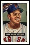 1951 Bowman REPRINT #92  Junior Stephens  Front Thumbnail