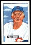 1951 Bowman REPRINT #282  Frankie Frisch   Front Thumbnail