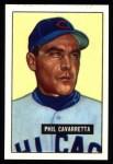 1951 Bowman Reprints #138  Phil Cavarretta  Front Thumbnail