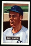1951 Bowman REPRINT #59  Randy Gumpert  Front Thumbnail