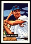 1951 Bowman REPRINT #70  Ron Northey  Front Thumbnail