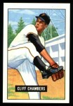 1951 Bowman REPRINT #131  Cliff Chambers  Front Thumbnail