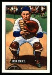 1951 Bowman REPRINT #214  Bob Swift  Front Thumbnail