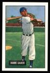 1951 Bowman REPRINT #22  Hank Sauer  Front Thumbnail