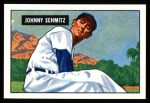 1951 Bowman REPRINT #69  Johnny Schmitz  Front Thumbnail