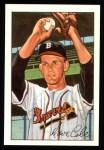 1952 Bowman REPRINT #132  Dave Cole  Front Thumbnail