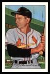 1952 Bowman REPRINT #30  Red Schoendienst  Front Thumbnail
