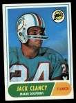 1968 Topps #14  Jack Clancy  Front Thumbnail