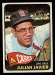 1965 Topps #447  Julian Javier  Front Thumbnail