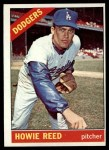 1966 Topps #387  Howie Reed  Front Thumbnail