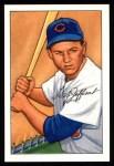 1952 Bowman REPRINT #104  Hal Jeffcoat  Front Thumbnail
