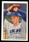 1952 Bowman REPRINT #211  Paul Minner  Front Thumbnail
