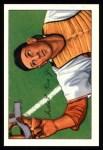 1952 Bowman REPRINT #107  Del Rice  Front Thumbnail