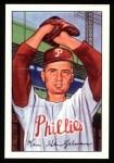 1952 Bowman REPRINT #148  Ken Heintzelman  Front Thumbnail