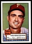1952 Topps Reprints #362  Ken Heintzelman  Front Thumbnail