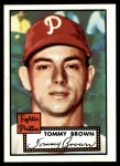 1952 Topps Reprints #281  Tom Brown  Front Thumbnail