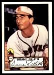 1952 Topps REPRINT #82  Duane Pillette  Front Thumbnail