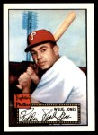 1952 Topps Reprints #47  Willie Jones  Front Thumbnail