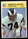 1966 Philadelphia #102  Merlin Olsen  Front Thumbnail